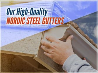 Our High-Quality Nordic Steel Gutters